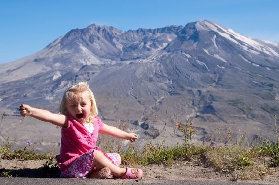 Amboy, WA: Our Daughter at St. Helens