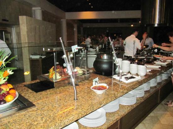 The Westin Golf Resort & Spa, Playa Conchal: Buffet