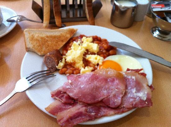Judd Hotel: Завтрак