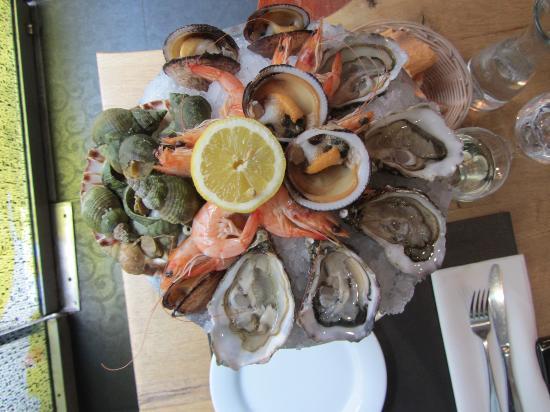 Le Comptoir des Mers : platter for 1 : 27 Euros well spent