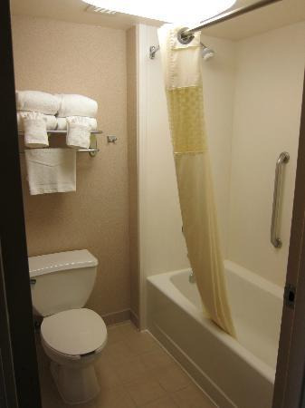 Hampton Inn and Suites Seattle North Lynnwood: King Bed Suite - Bathroom