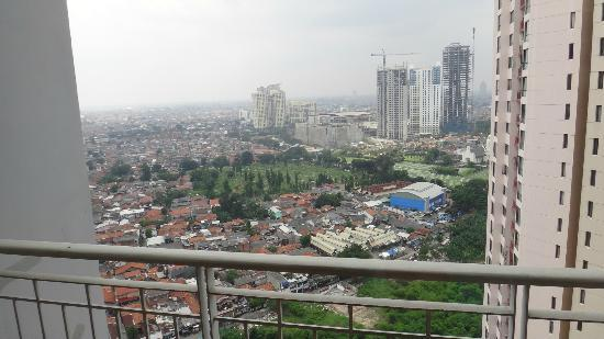 Aston Rasuna: a view from the 29th floor