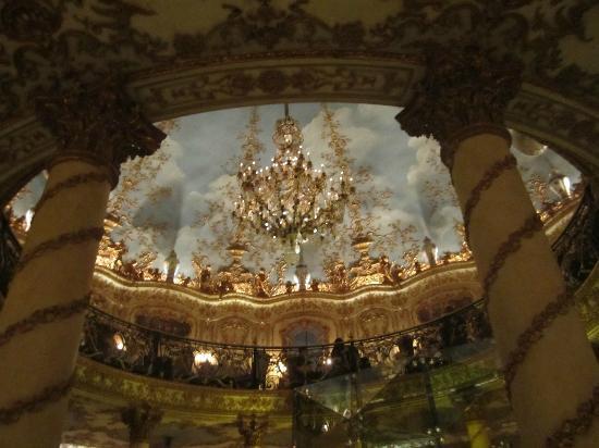 Roof paintings at Turandot