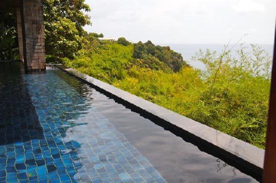 Paresa Resort Phuket: A part of the room pool
