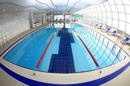 Suncheon, Korea Selatan: 에코그라드호텔 수영장