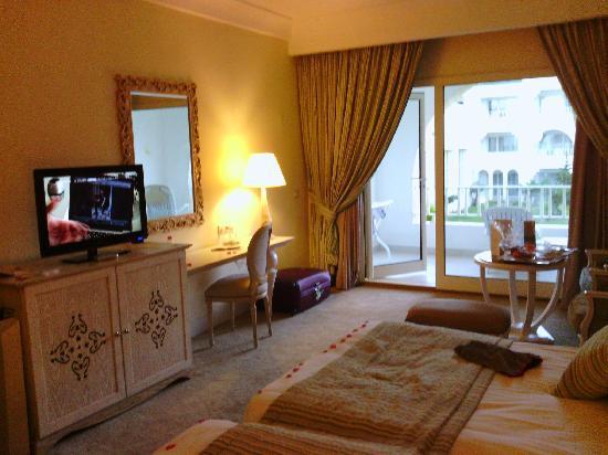 Hasdrubal Thalassa & Spa Djerba: la chambre avec le balcon