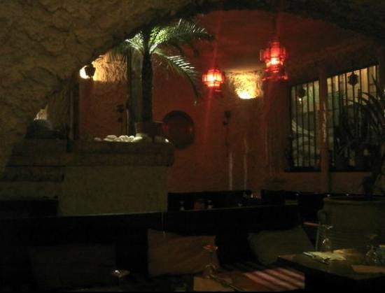 Les Palmiers du Sinai : La salle