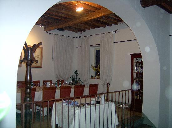 Osteria di Rendola: una sala