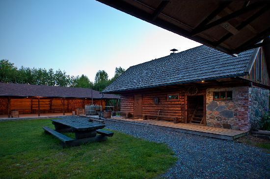 Kuke Holiday Center: Sauna house