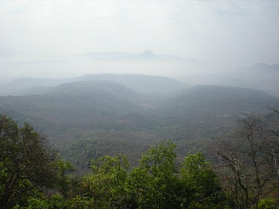 Panvel, India: From the top of the mountain