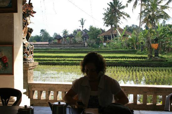 Ina Inn Bungalows: The view at breakfast