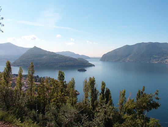 Marone, Italia: Vista dall'Agriturismo