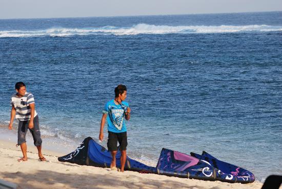 Kingfisher Resort: Kitesurfing