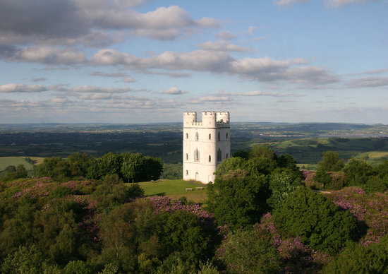 Dunchideock, UK: The beautiful Haldon Belvedere (Lawrence Castle)