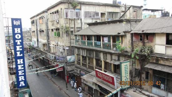 Hotel Heera: Vista dall'albergo