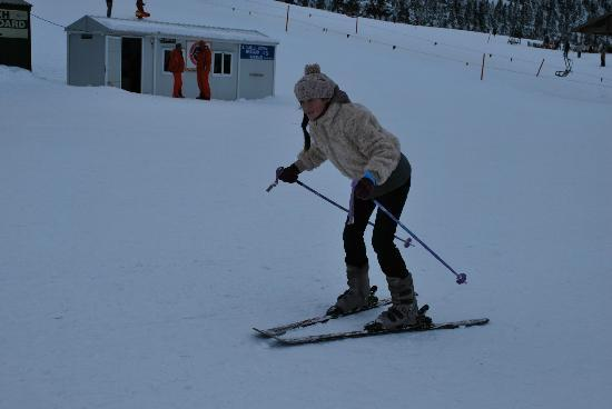 Kalavrita Railway - Odontoto : my first ski session at the ski resort in Kalavrita. it was fun and will be back for more