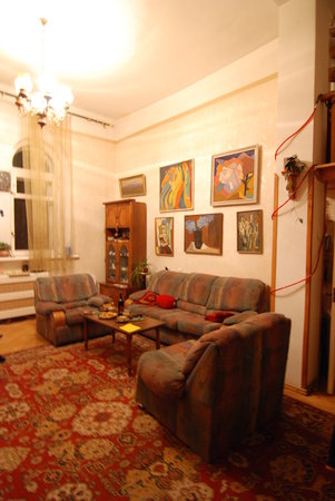 Anahit Stepanyan's B&B: living room