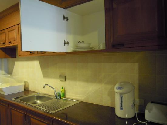 Check Inn Resort Krabi : Cuisine équipée