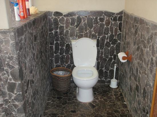 Le Manumea Hotel: The outside toilet