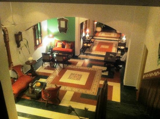Casa Anjuna: lobby