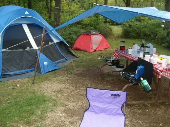 Loft Mountain Campground: camp site
