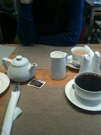 St Martins Tea Room & Grill: china