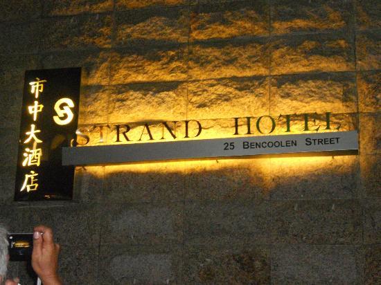 Strand Hotel: Facade