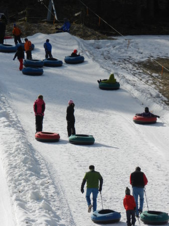 Great Barrington, MA: Ski Butternut's Tubing Hill