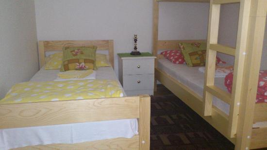 The Garden Hostel: Four bedded room
