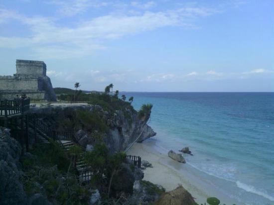 Las Palmas Maya : Le site de Tulum, à 10km de l'hotel.