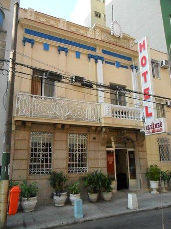 Hotel Caxambu : Fachada do Hotel