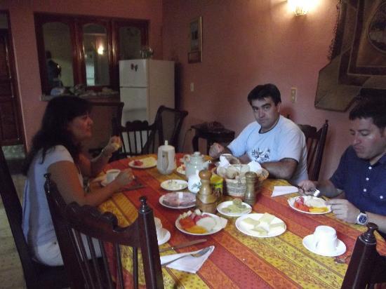 Casa Particular Hostal Zobeida : excelente cocina, desayunos frescos y abundante...y tambien cenamos...totalmente recomendable...