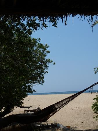 Hostal La Isla: Beach view from La Isla
