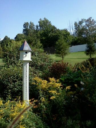 Charlton Farm Inn: Birdhouse and some of the grounds