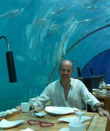 Ithaa Undersea Restaurant: Ithaa Lunch