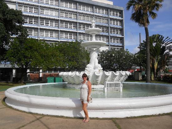 Bridgetown fountain