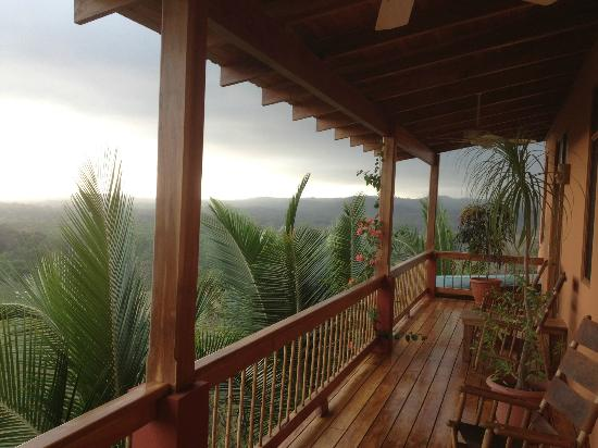 Costa Rica Yoga Spa: Balcony