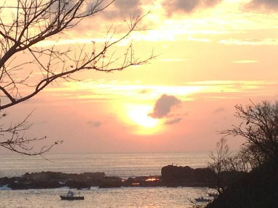 Costa Rica Yoga Spa : Sunset
