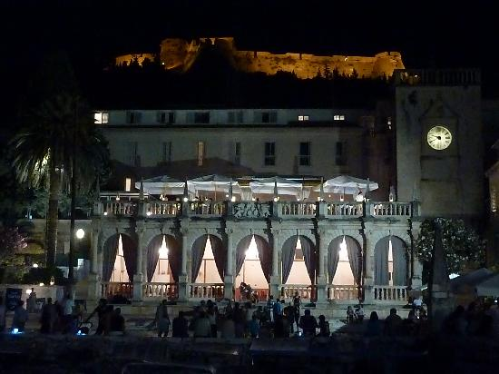 The Palace Hvar Hotel: Terraza