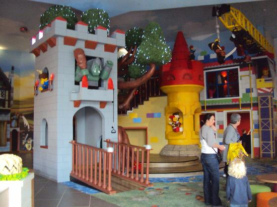 LEGOLAND Resort Hotel: Play Area and Stage