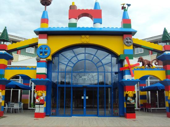 LEGOLAND Resort Hotel: Back of the Hotel
