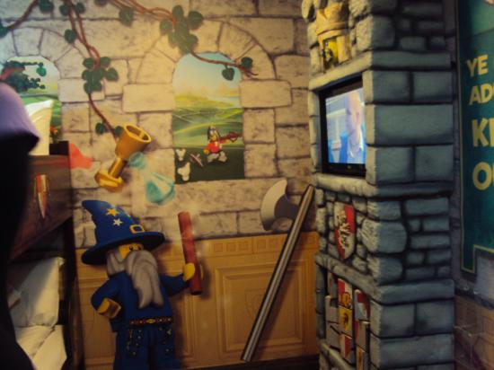 LEGOLAND Resort Hotel: Kingdom Room - Kids area