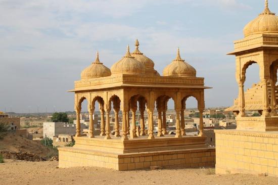 Vyas Chhatri: cenotafio