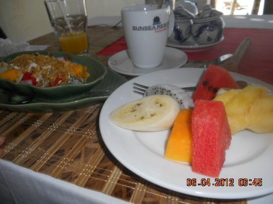 Sunsea Resort: The breakfast