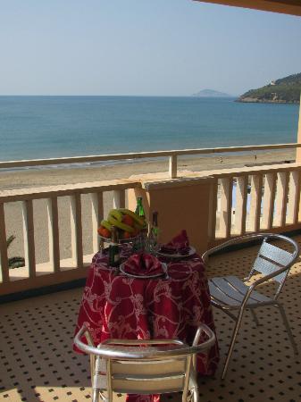 Hotel Villa Eleonora: Balcone camera
