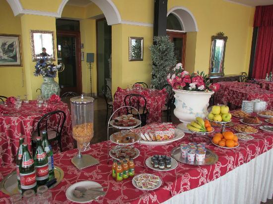 Hotel Villa Eleonora: Sala ristorante