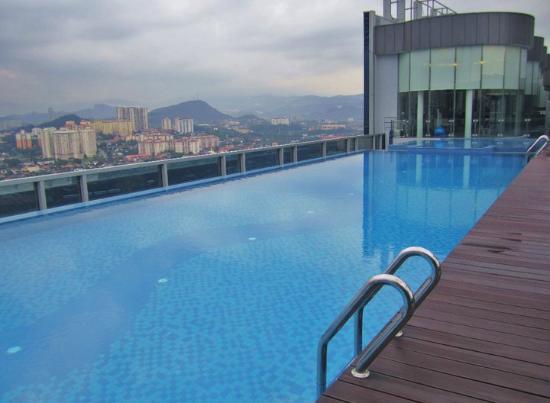 Rooftop pool gym picture of somerset ampang kuala - Rooftop swimming pool kuala lumpur ...