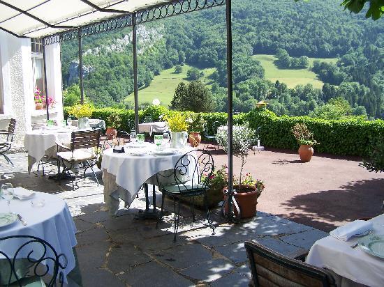 Hotel Taillard : terrasse