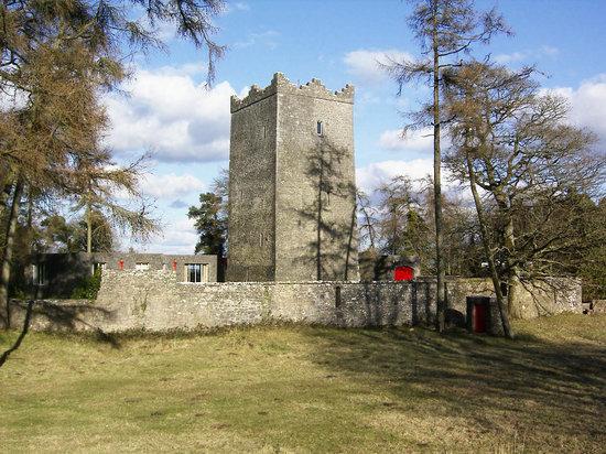 Ross Castle B&B: Walls and Tower