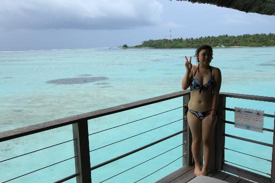 Club Med Kani : from mini balcony